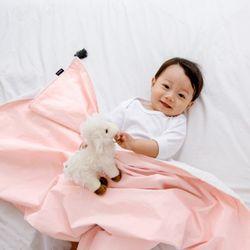 코니테일 코지 블랭킷 - 핑크테슬 (극세사 아기담요)