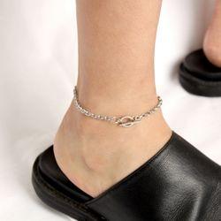 [Unisex] Unusual Ankle Bracelet 언유즈얼 체인 발찌