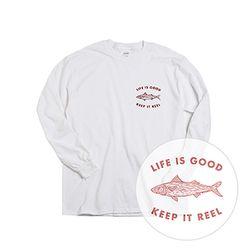 Life Is Good Keep It Reel Tee