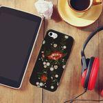 [아이폰6+]NBH-0115 빨간꽃 자수st 슬라이더케이스