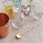 Gold muddler spoon :)