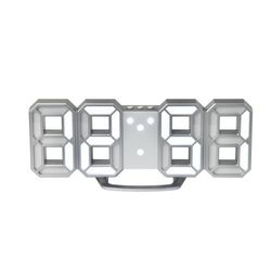 Pixel.3D Digital Clock (Silver) 2018개선형