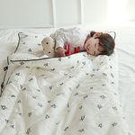 [쟈니스타]사계절용 일체형 낮잠이불 메리스타 화이트