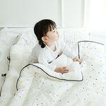[쟈니스타]사계절용 일체형 낮잠이불 문라이트 화이트
