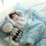 [쟈니스타]사계절용 일체형 낮잠이불 메리레인 스카이