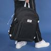USB포트+파우치SET] Signature Backpack (black)