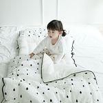 [쟈니스타]사계절용 일체형 낮잠이불 메리레인 화이트