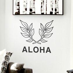알로하 그래픽 포인트 스티커