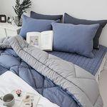 덴버 새미마이크로 차렵베딩-블루-싱글기본세트