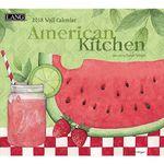 2018 벽걸이 달력 - American Kitchen