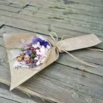 로랑 드라이플라워 꽃다발 선물 (네츄럴 미니미)