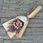 로랑 드라이플라워 꽃다발 꽃선물 선물 (이모션로즈)