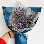 로랑 드라이플라워 남자친구꽃선물 (오하이오블루)