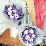 로랑 드라이플라워 꽃다발 꽃선물 (라벤더목화 S)