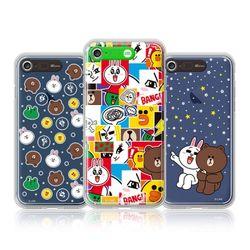 라인프렌즈 iPhone8 7 Plus 아머쉴드 라이팅 케이스