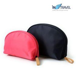 인트래블 여행용품 여행파우치 반달파우치(대)