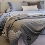 Stripe Modal Bedding Set.6color   Q기본세트