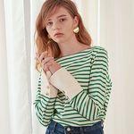 Stripe Cuffs T [Green]