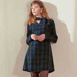 Check Dress [Green]