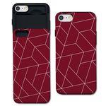 [아이폰7+] polygon 딥레드 S1141A 슬라이더 케이스