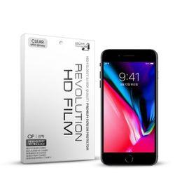(2매)레볼루션HD 올레포빅 고광택 보호필름 아이폰8