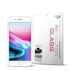 (2매)레볼루션글라스 2.5D풀커버 아이폰8플러스