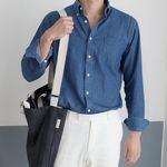 Crossbag - 피그먼트 남자 크로스백 +3 color