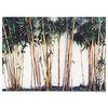 패브릭 포스터 F082 식물 태피스트리 대나무 [중형]