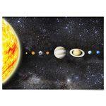패브릭 포스터 F086 우주 태양계 패밀리 [중형]