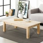 르네 삼나무 원목 1000-600 거실 테이블