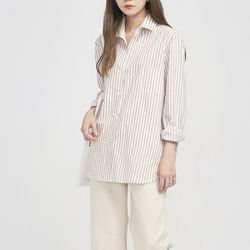 summary pocket stripe shirts