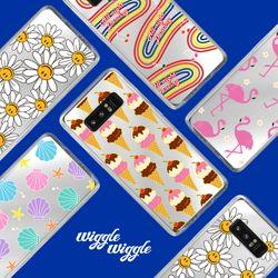 [~6/4까지] wigglewiggle Mirror Case (갤럭시노트8)