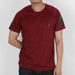 SOS T-shirt - Maroon(Red)