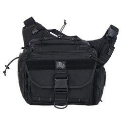 Roadrunner Messenger Bag - Black