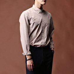 [매트블랙] 지엘 러슬 기본 셔츠