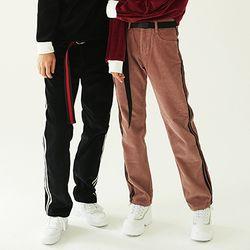 Two Stripe Corduroy Pants (3color)(unisex)