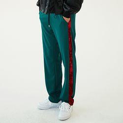 Velvet Line Jersey Track Pants (3color)(unisex)