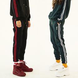 Two Stripe Jogger Pants (3color)(unisex)