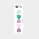 color palette sticker (purple-green)