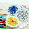 민화 그림그리기 손거울 만들기 재료