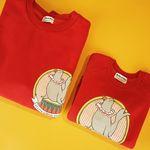 Red Seal Mom & Baby Sweatshirts Set