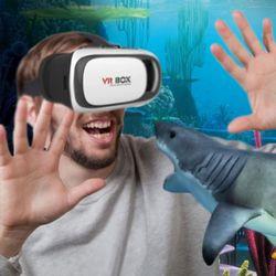 신형 스마트폰 VRBOX 고급 가상현실 체험 기기
