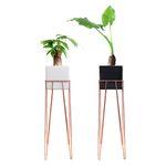 재즈벤치 사각화분스탠드+공기정화식물B세트