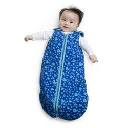 Baby Deedee Sleep Nest Tee (Playful whales)