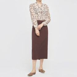 to lady long skirt