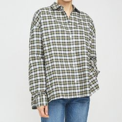 napping vintage check shirts