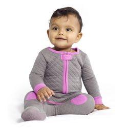 Baby Deedee Sleepsie Quilted (Slate)