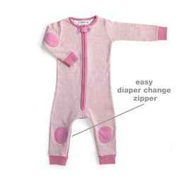 Baby Deedee Sleepsie Long (Heater Pink)