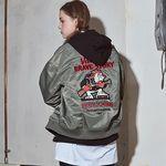 crump kitsch ma-1 jacket(CO0008-1)