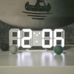소프시스 3D LED 미니시계